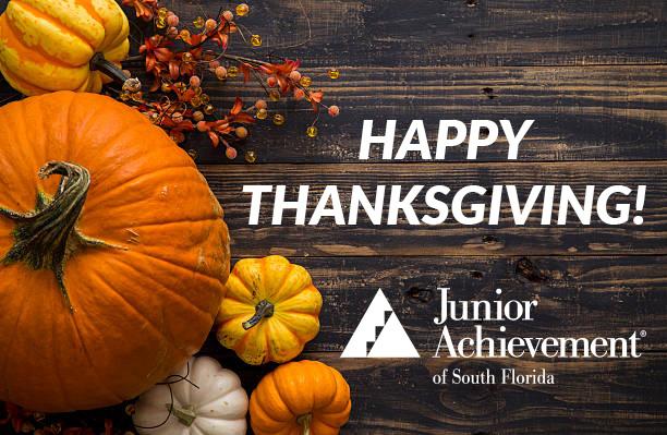 Happy Thanksgiving from Junior Achievement