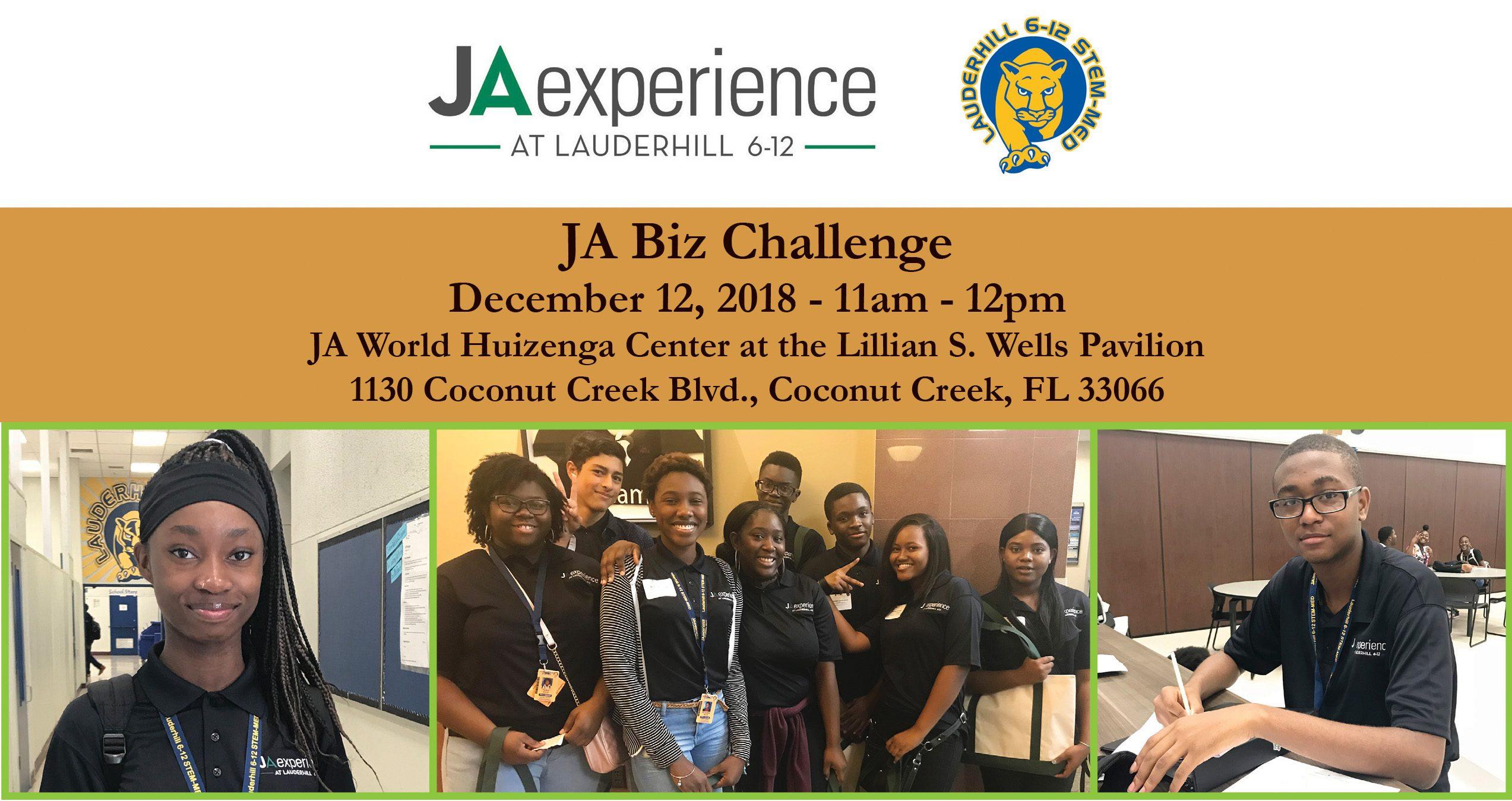JA Experience Announces JA Biz Challenge